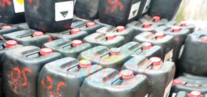 Fait divers : 2000 litres d'acide saisis