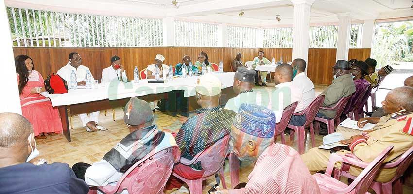 Sanaga-Maritime : les chefs se concertent
