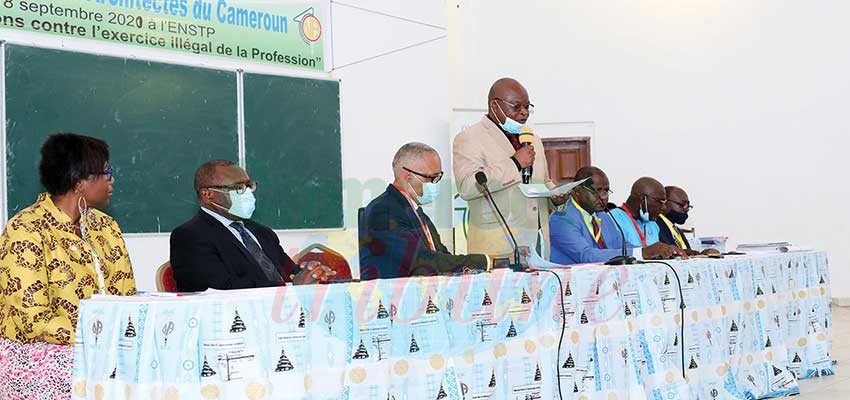 National Order of Cameroonian Architects : Louis Désiré Côme Awono Re-elected President