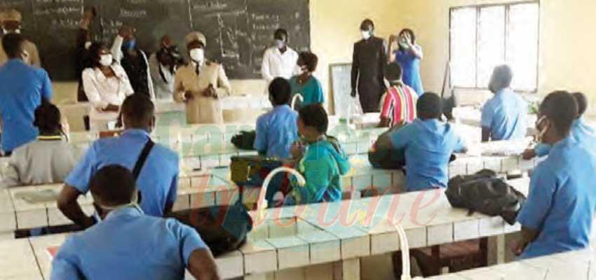 Buea : Social Distancing In Classes Marks School Resumption