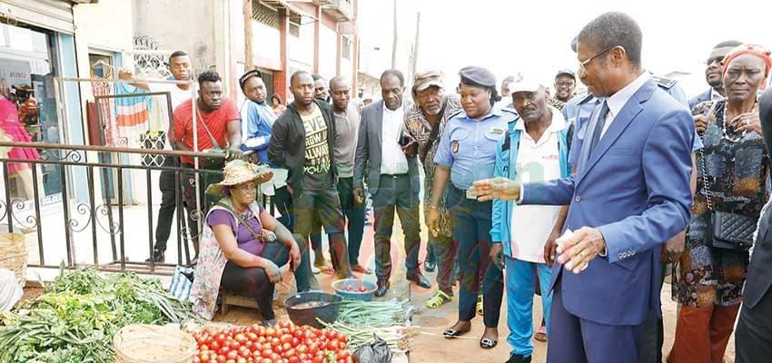 Yaoundé : Messi Atangana sur les trottoirs