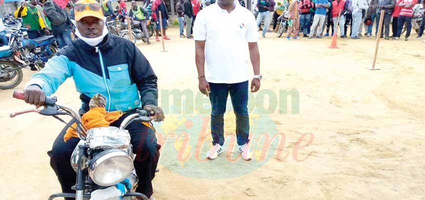 Projet Moto-Afrique  : 700 conducteurs à l'épreuve du permis A