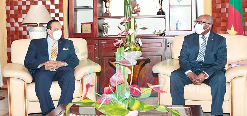 Cameroun Union des confédérations africaines des Sports : des relations au beau fixe