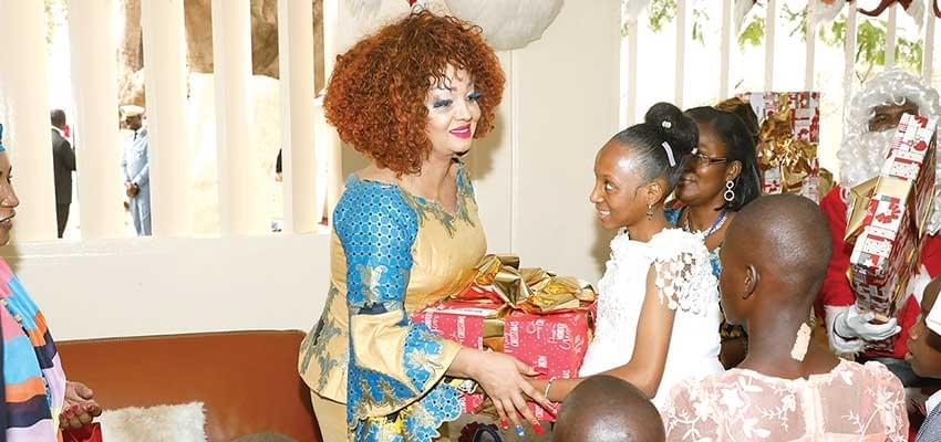 Fighting Against Poverty:  Chantal Biya At The ForeFront