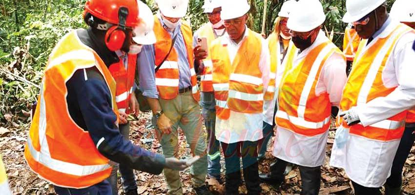 Rutile d'Akonolinga : exploration cpncluante