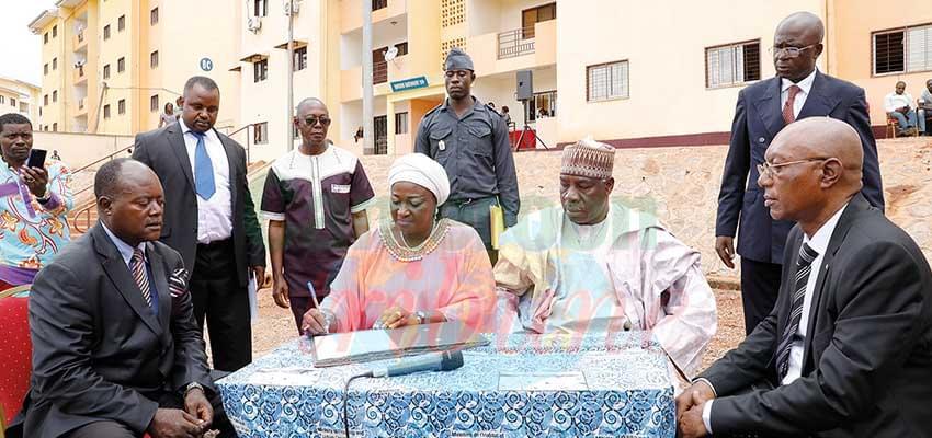 Logements sociaux d'Olembé : 32 appartements trouvent propriétaires