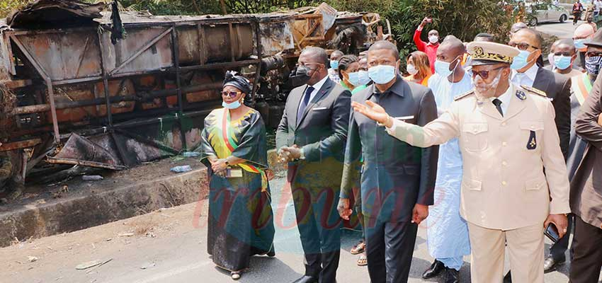 Accident de Santchou : deux ministres sur les lieux