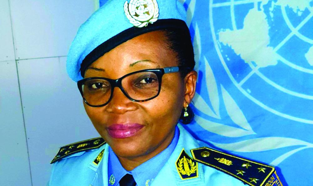 Rebecca Nnanga : une policière à l'honneur
