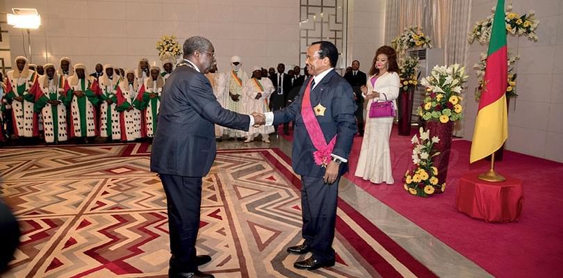 Investiture du président Paul Biya: les attributs et les tous les honneurs