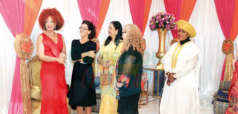 Palais de l'Unité : Chantal Biya entretient l'amitié