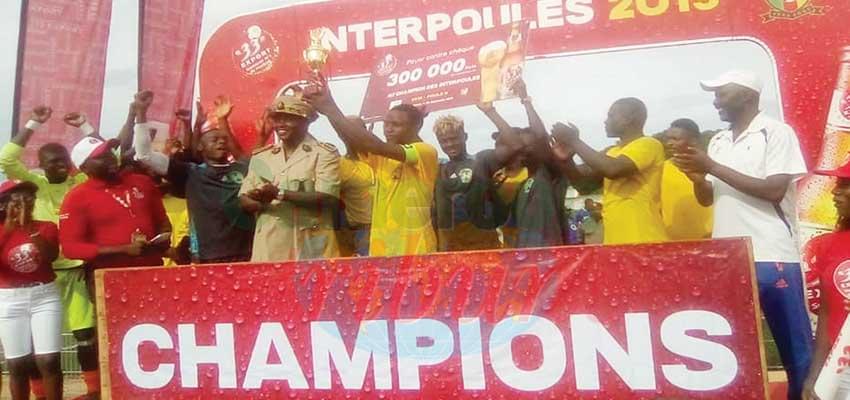 Moment de joie pour les trois champions qualifiés.