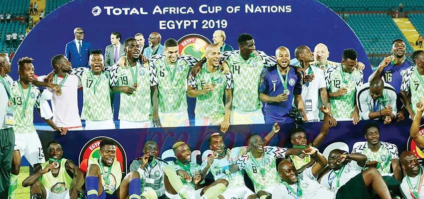 Super Eagles of Nigeria in Bronze
