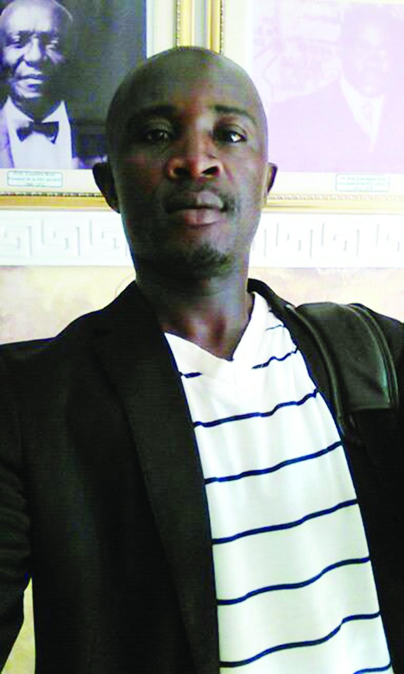 Narcisse Tinkeu, entraîneur-préparateur physique.