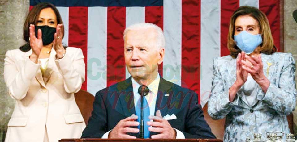 Maison blanche : les 100 premiers jours de Biden