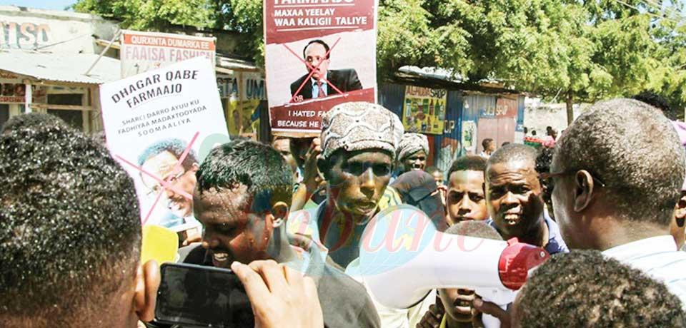 Somalie : prolongation de mandat annulée