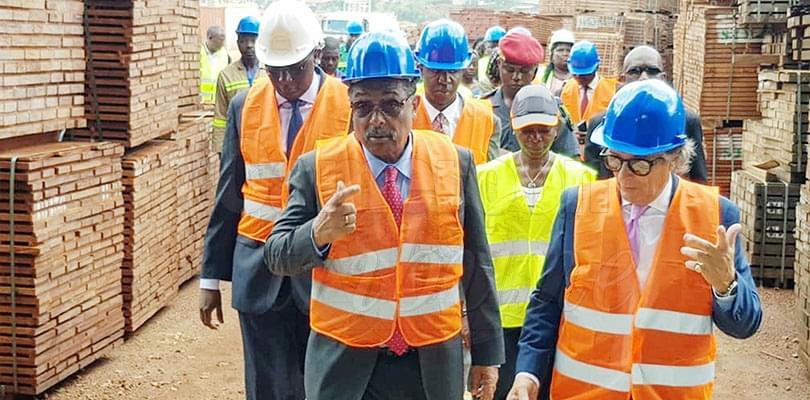 Image : Travail décent: Grégoire Owona en campagne de promotion