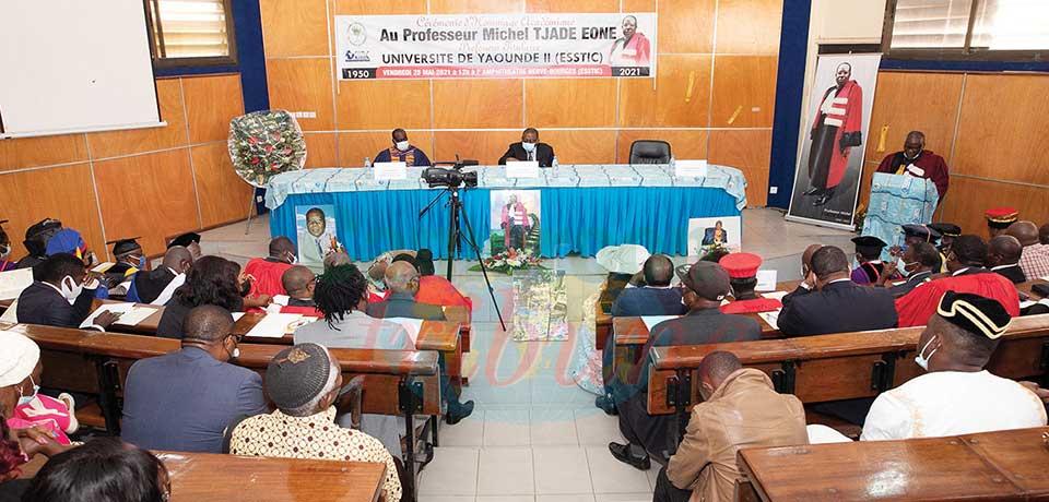 Hommages académiques : Pr. Tjade Eone, à jamais !