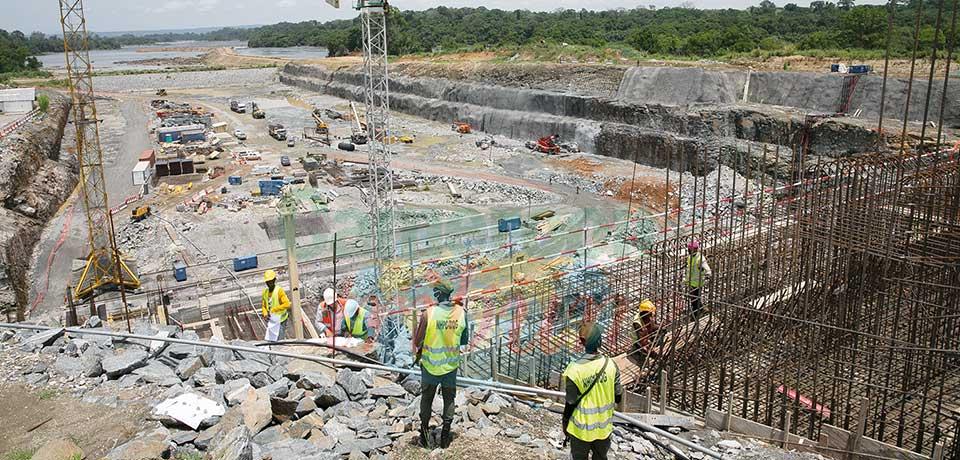 Nachtigal : le barrage sort de terre