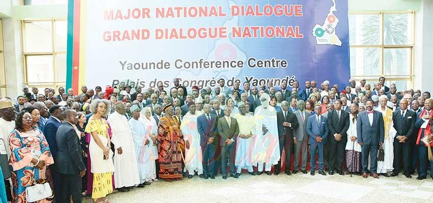 Cameroonians used the Major National Dialogue to lay the grounds for peaceful elections.