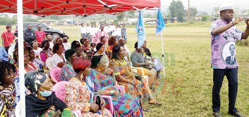 MP For Buea Gets His Community Pulses