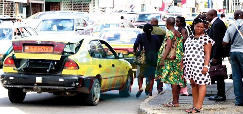 Il faut s'accrocher pour trouver un taxi…