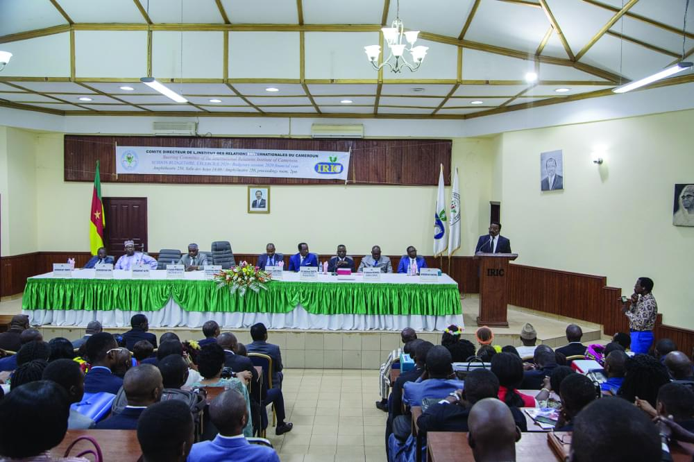 International Relations Institute of Cameroon : Performance Projects For 2020 Adopted