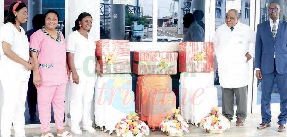 CHRACERH : Chantal Biya's Motherly Gifts To Babies