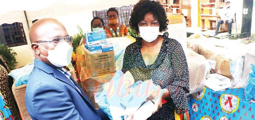 New Bell Health District : African Synergy Donates Anti Covid-19 Materials