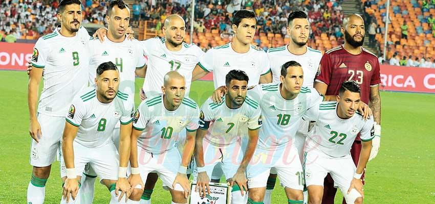 Podium : l'Algérie, en toute logique
