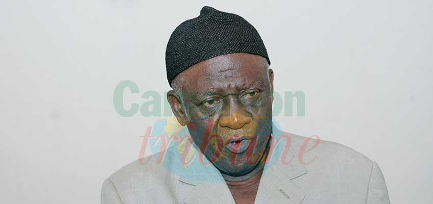 """John Fru Ndi """"As regards the meetings we have been holding, it is to discuss the life of the party."""""""