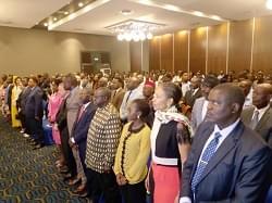 Le public gabonais était au rendez-vous.
