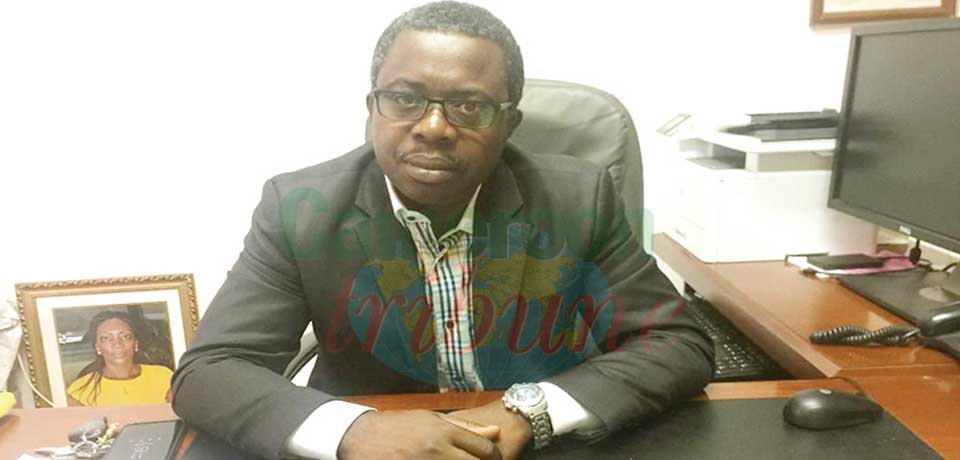 Dr Joël Ateba, secrétaire permanent adjoint du Programme national de lutte contre le paludisme.