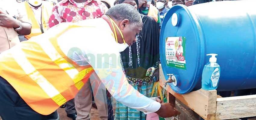 Bertoua : lavage des mains assuré