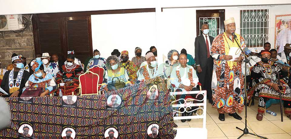 The elite gathered at the Yaounde residence of the late former Prime Minister on June 26, 2021 to condole with his family and pay tribute to the fallen political icon.