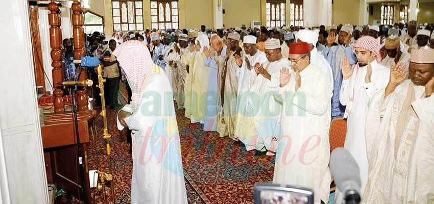 Fête de fin de Ramadan: prières pour la paix