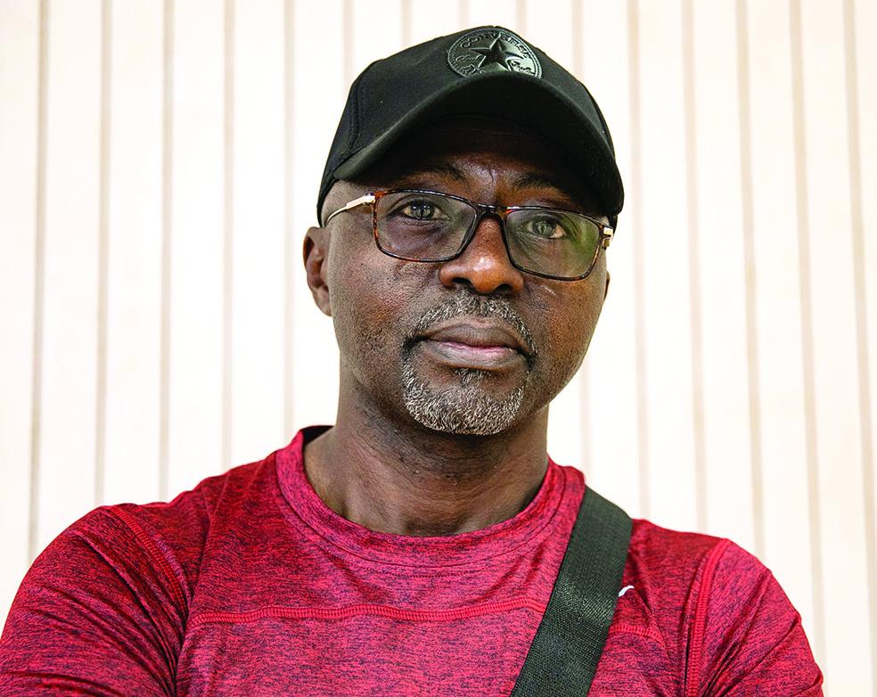 Martin Charles Ahanda Ze, président de PAD volleyball.