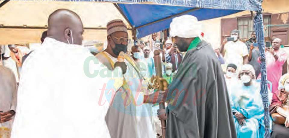 Mosquée centrale N° 2 de Yaoundé  : un nouvel Imam prend fonction