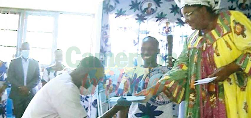 Registering Public Exams : Hon. Lifaka Supports Fako Youth