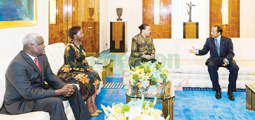 Union africaine, Francophonie, Commonwealth : soutien réaffirmé au processus de paix