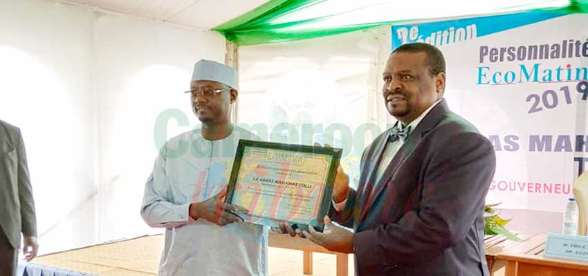 Rewarding Meritocracy : BEAC Governor Receives Award