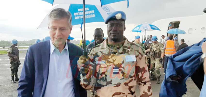 DR Congo : United Nations Peace Boss In Kinshasa