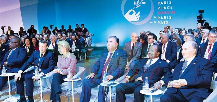 Paris Peace Forum : President Biya Joins New Global Initiative