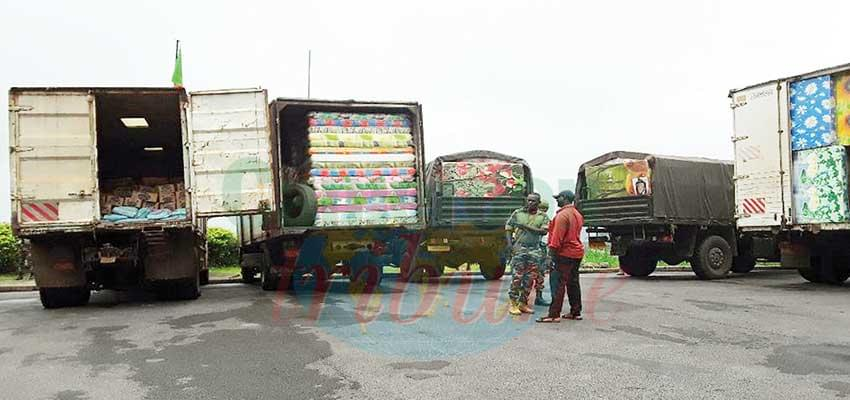 12 Trucks Arrive In South West With Supplies