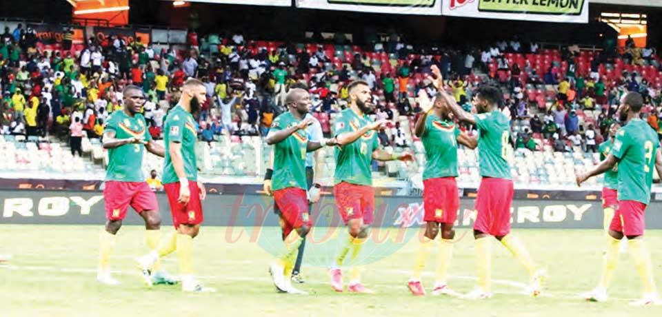 Eliminatoires Mondial 2022 : les Lions restent au contact