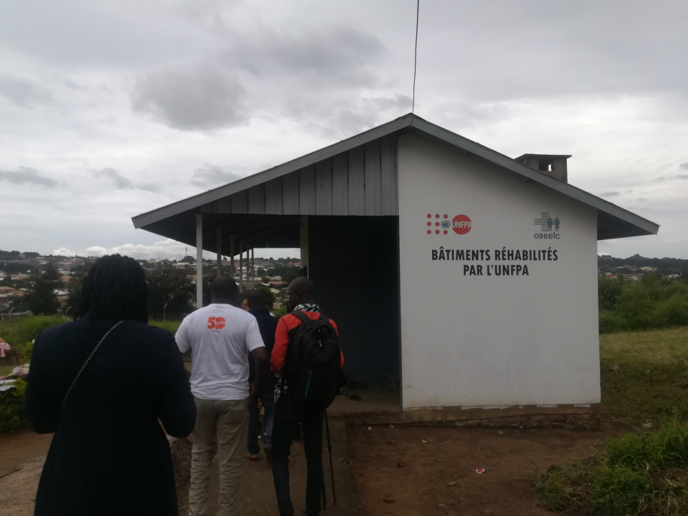 UNFPA has refurbished and equipped buildings in the Ngaoundere Vesicovaginal Fistula Centre.