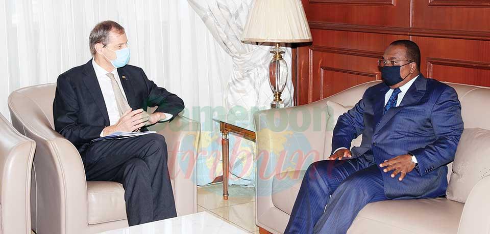 Cameroun-Union européenne  : Philippe Van Damme chez le Minfi
