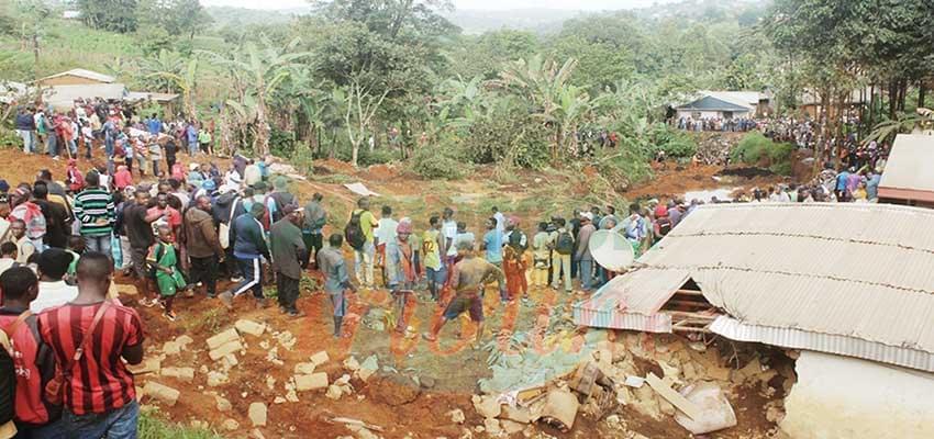Eboulement : drame à Bafoussam