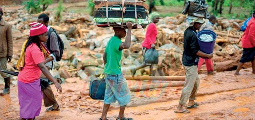 Cyclone Idai: l e Mozambique et le Zimbabwe sous le choc