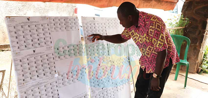 Yaounde : Technical Checks Of Provisional Lists Underway