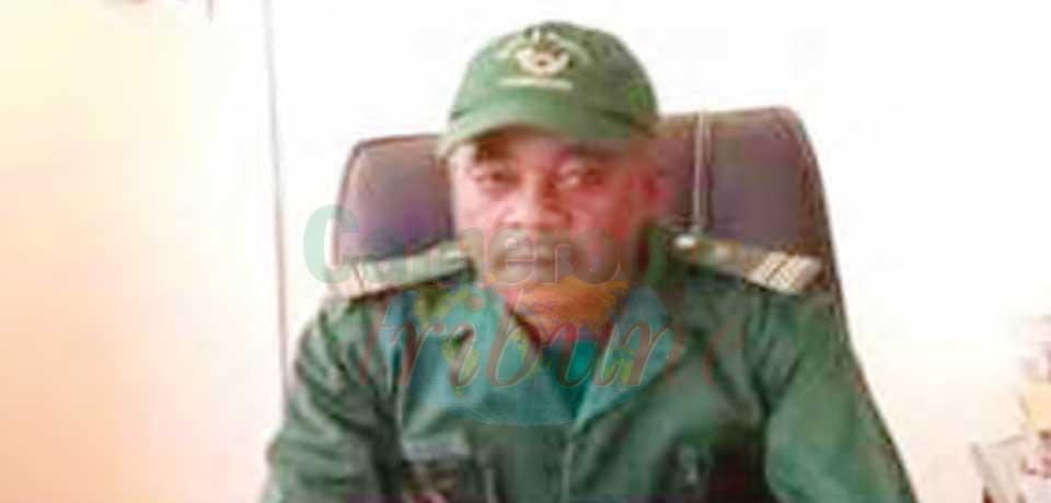 Jean David Ndjiba, délégué régional des Forêts et de la Faune pour l'Extrême-Nord.